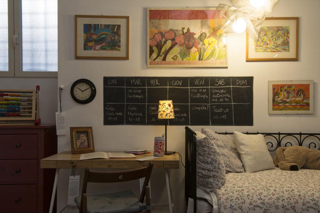 stanza #6 - La camera da letto, la camera dei ragazzi