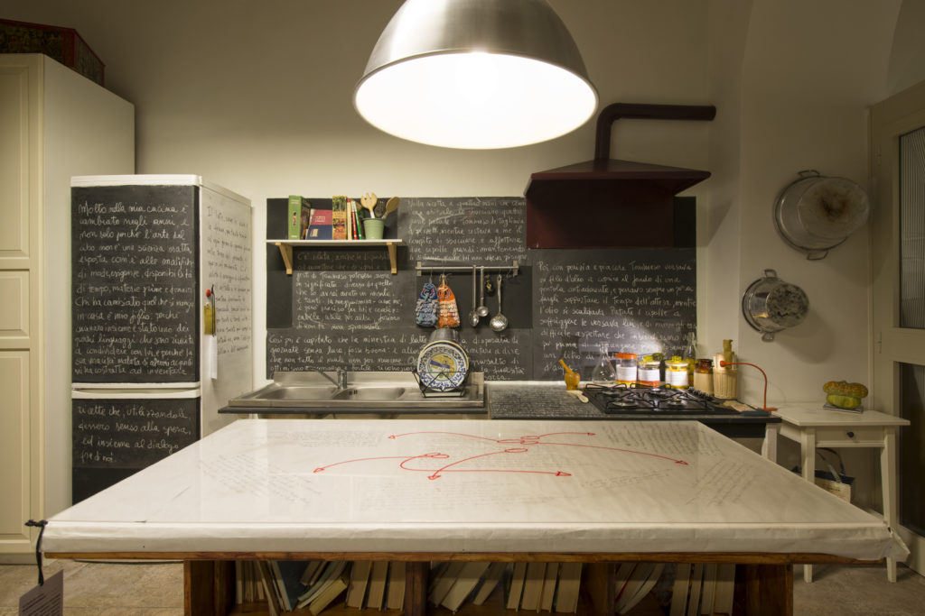 stanza #4 - Cucina, o degli ingredienti per una buona narrazione